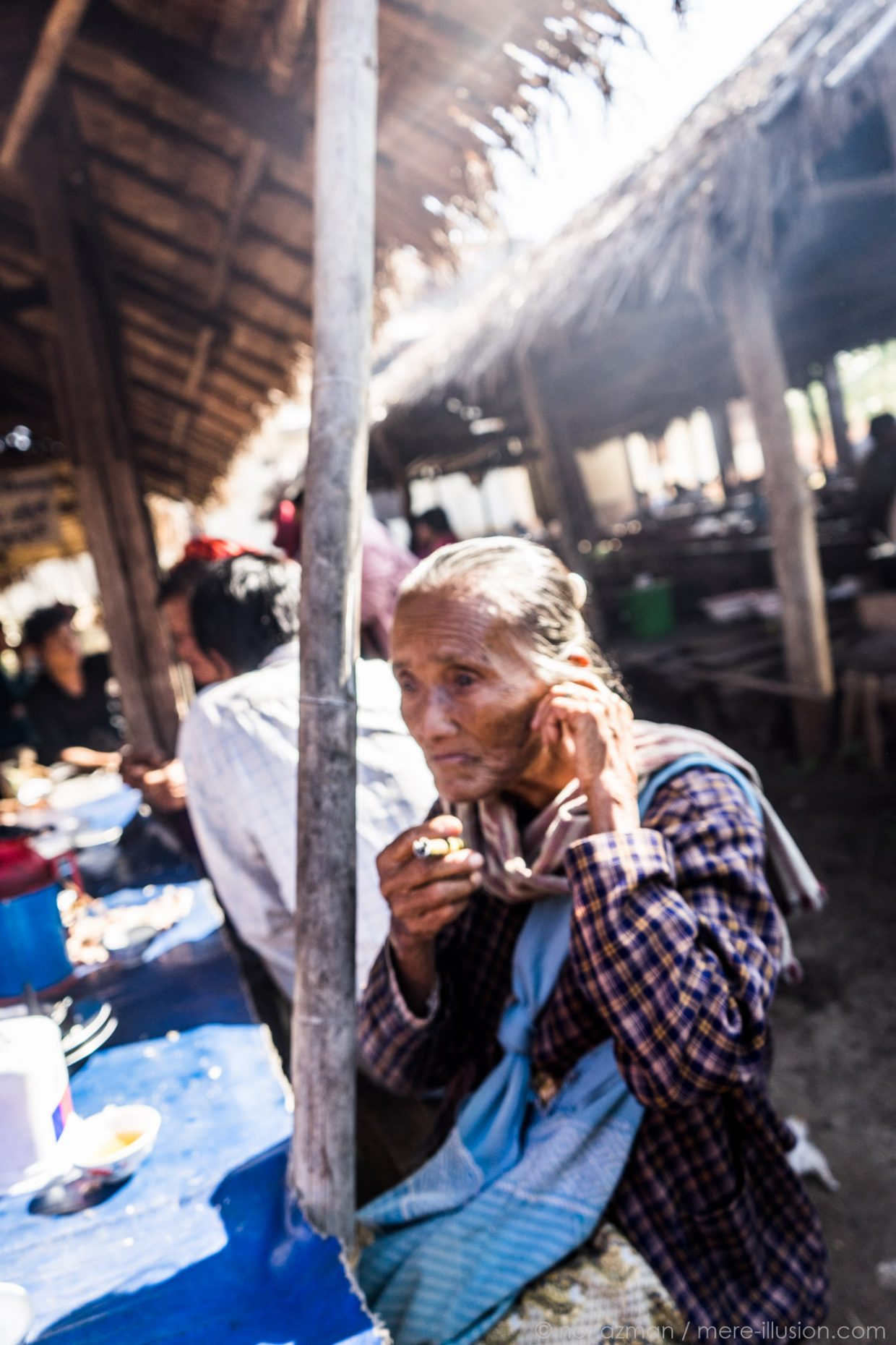 portraits in kalaw, myanmar by nor azman