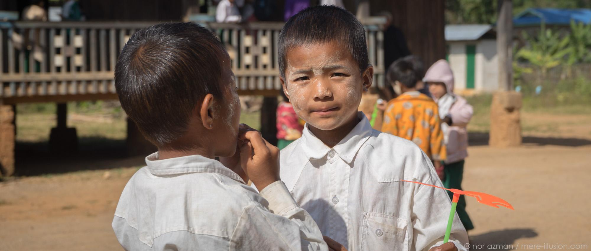 portraits in kalaw, myanmar by nor azman