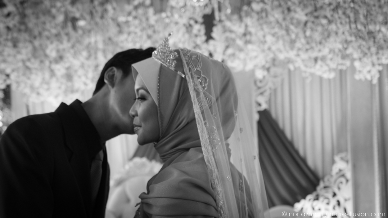 wedding of faiza and fahmi by nor azman