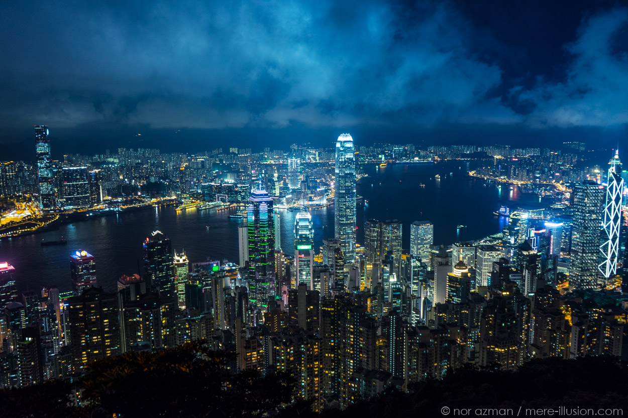 hong kong by nor azman
