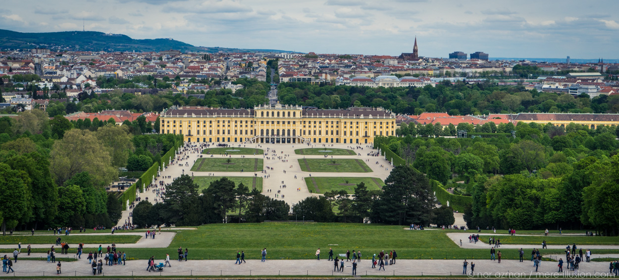 Schonbrunn Palace in Vienna, Austria by Nor Azman
