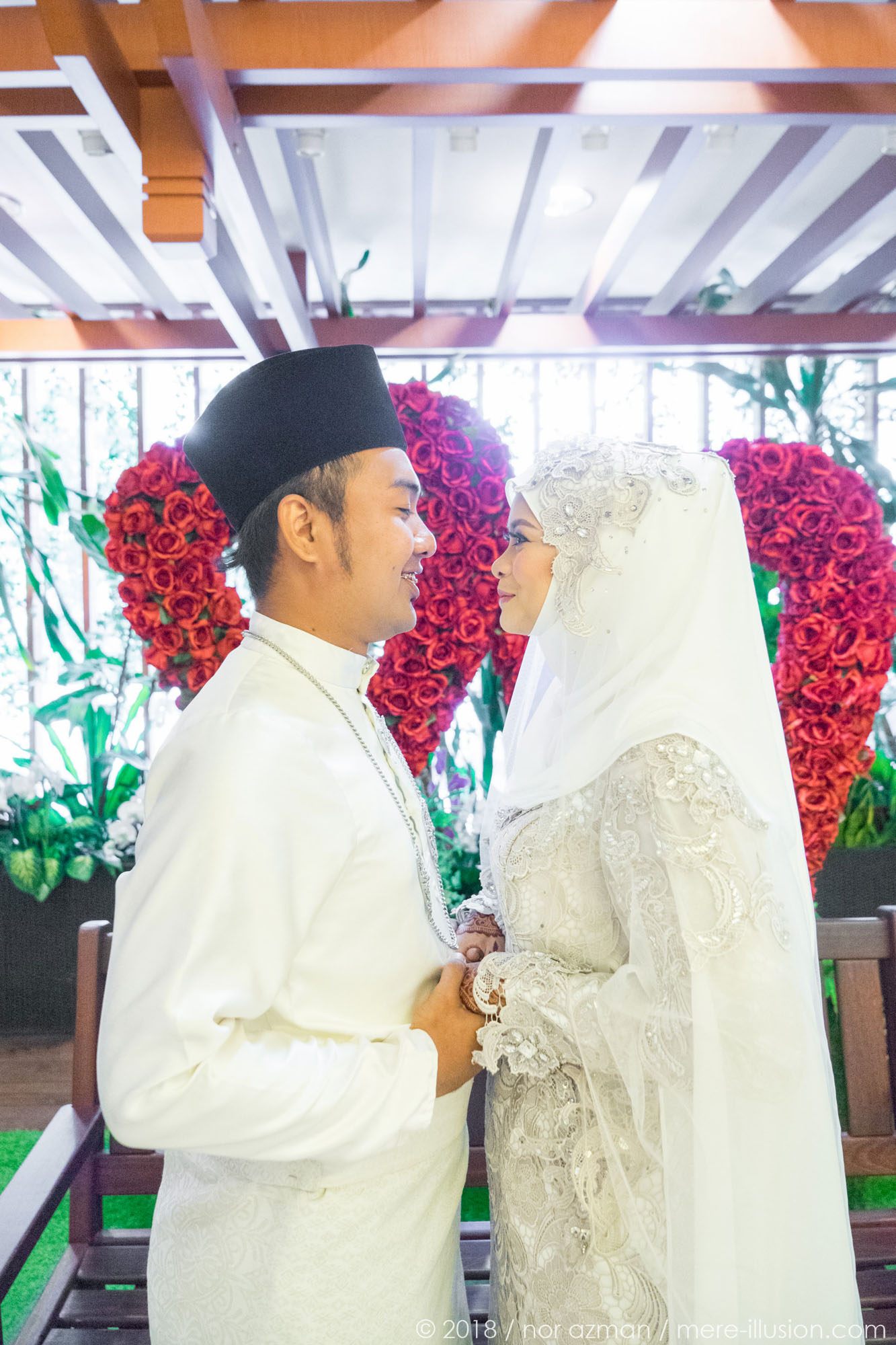 mere illusion nor azman razin mira post nikah